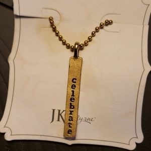 Celebrate necklace by JK thirty-one